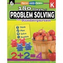 Shell 180 Days of Problem Solving for Kindergarten Education Printed Book for Mathematics by Jessica Hathaway