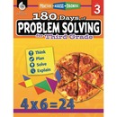 Shell 180 Days of Problem Solving for Third Grade Education Printed Book for Mathematics by Kristin Kemp