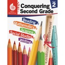 Shell Conquering Second Grade Education Printed Book for Science/Mathematics/Social Studies