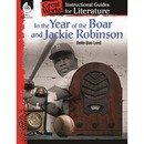 Shell Year of Boar & Jackie Robinson Guide Education Printed Book by Bette Bao Lord