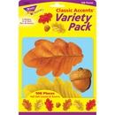 Trend Fall Oak Leaves/Acorn Accents Variety Pack