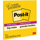 Post-it® Super Sticky Big Notes BN11-EU, Yellow, 27,9 cm x 27,9 cm, 30 sheets