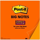 Post-it® Post-it Super Sticky Big Note, 15 in. x 15 in., Neon Orange