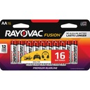 Rayovac Fusion Advanced Alkaline AA Batteries