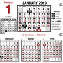 At-A-Glance Burkhardt's Day Counter Daily Refill