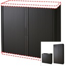 "Paperflow Door Kit with Cabinet Sides for Black USA easyOffice 41"" and 80"" Storage Cabinet"