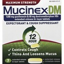 Mucinex DM Cough Tablets
