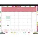 Blue Sky Peyton Floral Academic Desk Calendar