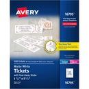 Avery® Tear-Away Stubs Matte Printable Tickets