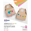 Avery® Astrobrights Color Easy Peel Labels