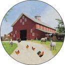 Flagship Carpets Barn Animals Classroom Rug