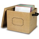 Teacher Created Resources Burlap Storage Box