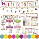 Teacher Created Resources Confetti Decor Bulletin Set