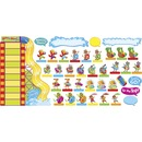 Trend Playtime Pals Goal-set Bulletin Board Set