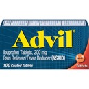 Advil Pain Reliever Ibuprofen Tablets