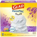 Glad Lavender Scent 13-gal Kitchen Trash Bags