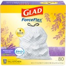Glad Lavender Scent 13-gal Kitchen Trash Bags