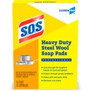 S.O.S Heavy Duty Steel Wool Soap Pads