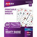 Avery® Inkjet Print Laser/Inkjet Badge Insert