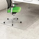 Deflecto Earth Source 45x53 Hard Floor Mat with Lip