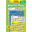 Trend superSpots superShapes Playful Pets Stickers