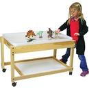 Trojan Large Hardwood Sand Table (shallow) & Lid