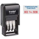 Trodat 4850 Self-Inking Date Stamp - Temp Checked