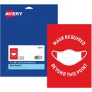 Avery® Surface Safe MASK REQUIRED Wall Decals