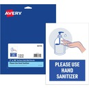 Avery® Surface Safe USE HAND SANITIZER Wall Decals