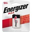 Energizer MAX Alkaline 9 Volt Batteries, 1 Pack