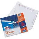 Avery&reg Tab Inserts for Hanging File Folders