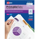 Avery® Printable Self-Adhesive Tabs