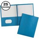 Avery&reg Two Pocket Folders with Fastener