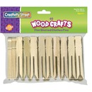 Creativity Street Flat-Slotted Clothespins