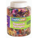 Creativity Street Sequins/Spangles Assortment Shaker Jar