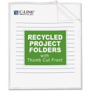 C-Line Recycled Poly Project Folders