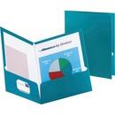 Oxford Metallic Two Pocket Folders