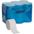 Compact Coreless Recycled Toilet Paper