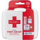 Johnson & Johnson 12-piece Mini First Aid Kit