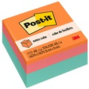 "Post-it® Notes Cube, 3 "" x 3 "", Aqua Wave"