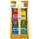 "Post-it® Flags, 1"" Wide, Assorted Primary Colors Value Pack"