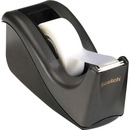 "Scotch® Desktop Office Tape Dispenser, Two-Tone Black/Black, 1"" Core"