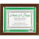 Nu-Dell Woodgrain Award-A-Plaque