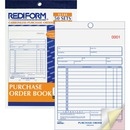 Rediform 3-Part Carbonless Purchase Order Book