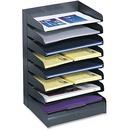 Safco Slanted Shelves Steel Desk Tray Sorter