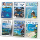 Safco 6-Pocket Magazine/Literature Display Rack