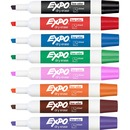 Expo Low-Odor Dry-erase 8-Color Marker Set