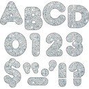 "Trend 4"" Sparkle Uppercase Ready Letters Set"