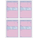 TOPS 4CPP Important Phone Message Book