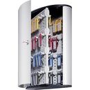 DURABLE® Brushed Aluminum Keyed Lock 72-Key Cabinet